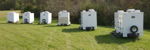 restroom trailers